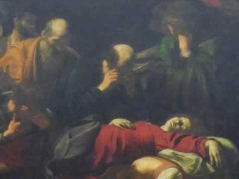 The Death of the Virgin, 1603 by Caravaggio