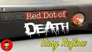 Red Dot of Death - Xbox 360 S Southbridge Reflow