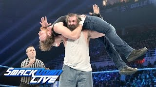 Dean Ambrose vs. Luke Harper: SmackDown LIVE, Dec. 20, 2016