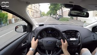 Ford Focus Turnier 1.0 EcoBoost (2016) - POV City Drive