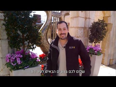 סרטון סיור מודרך שחושף את מסתורי ירושלים העתיקה