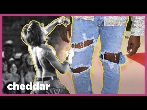 Proč jsou roztrhané džíny tak drahé?