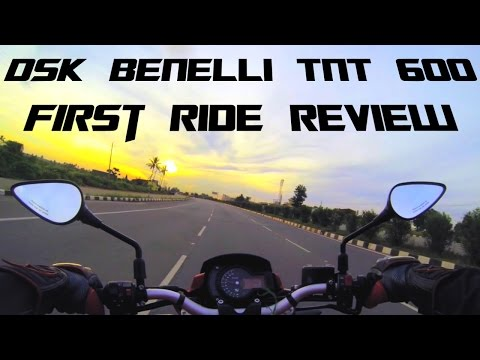 DSK Benelli TNT 600i / BN 600i | First Ride Review | IXIL X55 Exhaust