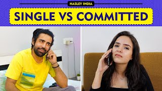 Single Vs Commited Ft. Simran Dhanwani, Rishabh & Abhishek | Hasley India  IMAGES, GIF, ANIMATED GIF, WALLPAPER, STICKER FOR WHATSAPP & FACEBOOK