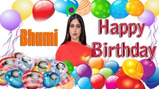 Beauty || Bhumi Pednekar || Happy Birthday Status || Greeting & Wishes | Short Bio