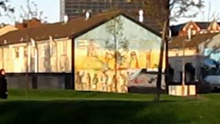 preview picture of video 'The Murals in Protestant Belfast'