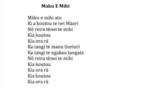 Maku E Mihi