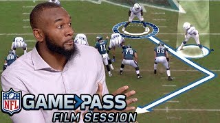 Darius Leonard Breaks Down How to Make Pre-Snap Reads, Force Turnovers, & More   NFL Film Session