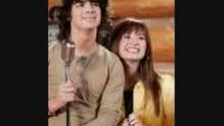 "Demi And Joe Jonas ""On The Line"""