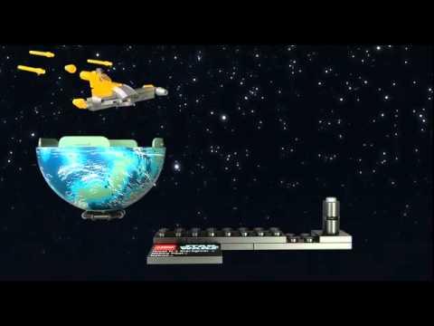 Vidéo LEGO Star Wars 9674 : Naboo Starfighter & Naboo