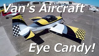 RV Aircraft Video - Van's Aircraft RV Eye Candy!