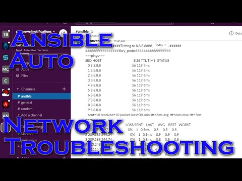 Automated Network Troubleshooting With Ansible Tower And Zabbix