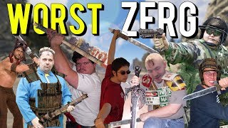 The Worst ZERG In Recorded History (Rust)