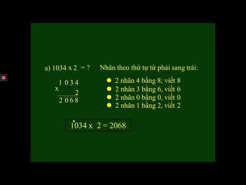 Toán 3 Bài 61