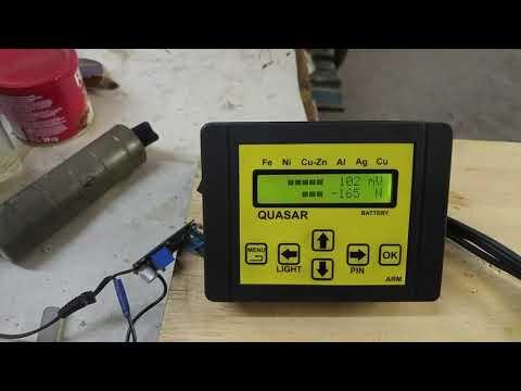 3. Изготовление датчика для металлодетектора Квазар ARM