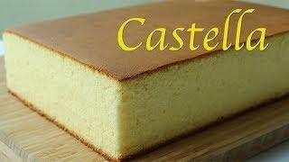 [Eng sub] Big size Nagasaki Castella cake, Japanese style sponge cake.