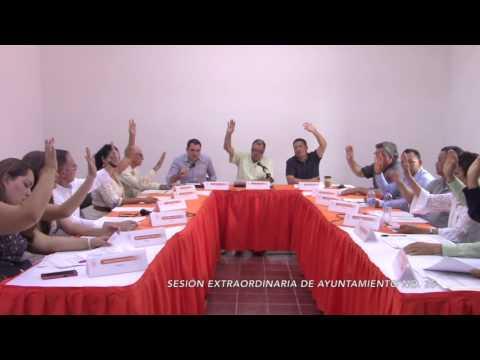 Sesión Extraordinaria No.35 de Ayuntamiento 10 de abril de 2017