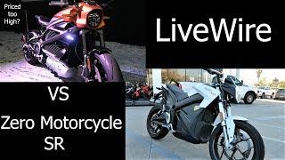 Zero Motorcycle Vs Harley LiveWire │Test Ride Comparison