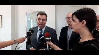 Επίσκεψη του Υφυπουργού Τουρισμού Μάνου Κόνσολα στη Περιφέρεια Δυτικής Ελλάδας
