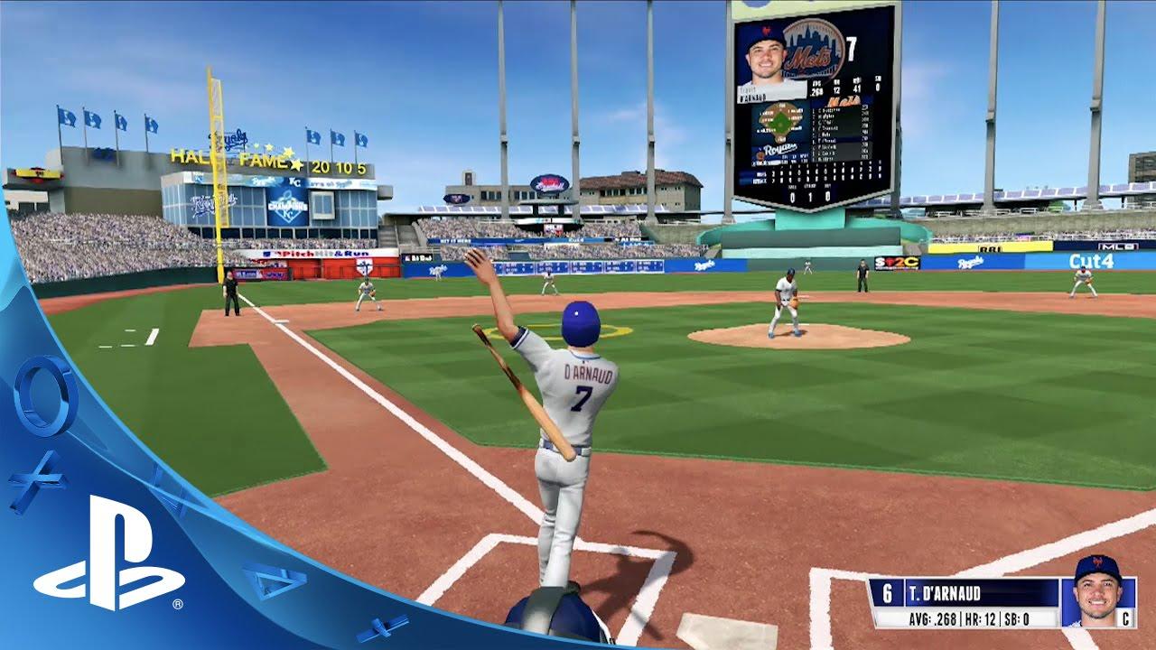 R.B.I Baseball 16 erscheint bald für PS4