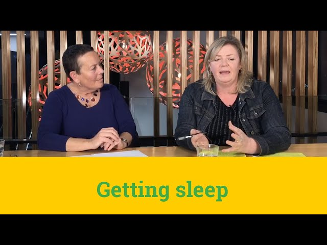 Young parents and sleep