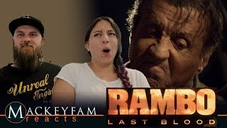 Rambo: Last Blood (2019 Movie) Teaser Trailer— Sylvester Stallone- REACTION and REVIEW!!!