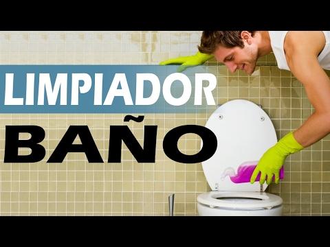 Como hacer un limpiador casero para el baño