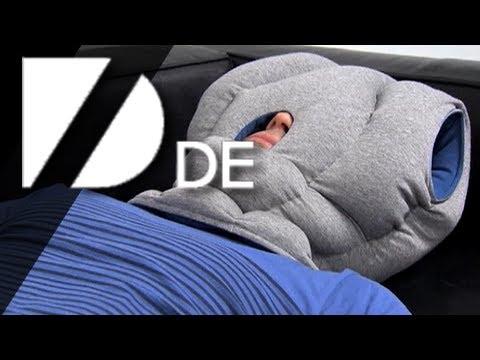 Verrücktes Schlafkissen ermöglicht schnelles Nickerchen!
