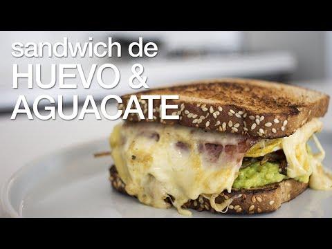 Sandwich de Huevo y Aguacate - Chef Andrés Rueda
