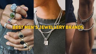 Top 5 Men's Jewellery Brands + My Collection | Men's Fashion 2020