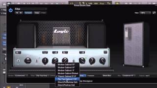 LOGIC PRO X Bass Designer