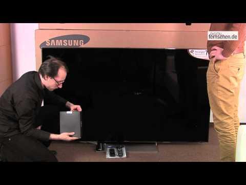Unpacking Unboxing Samsung UE75ES9090 Edge-LED-LCD 75 Zoll Flachbildfernseher (HD)