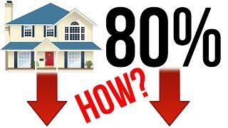 80% Real Estate CRASH! - Why Do People See This Coming?