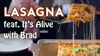 Binging with Babish: Lasagna from Garfield (feat. It's Alive with Brad)