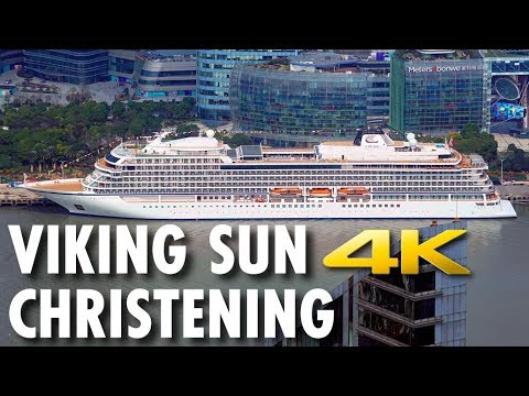 Viking Sun Christening: Shanghai, China ~ Viking Ocean Cruises ~ Cruise Review [4K Ultra HD]