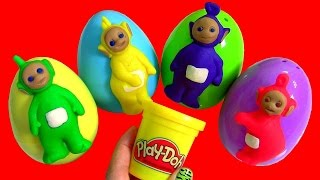 Teletubbies Play-Doh Surprise Eggs MLP Kinder My Little Pony, Nickelodeon Peppa Pig, Disney toys