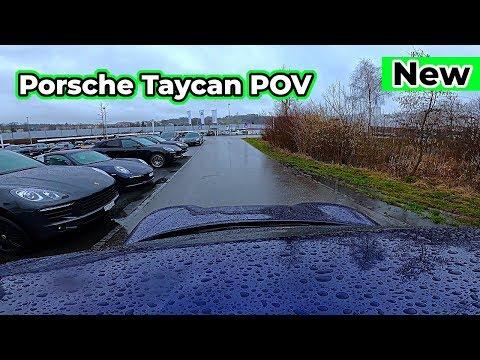Porsche Taycan 2020 Test Drive RAW Footage POV