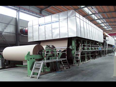 Paper Making Machines Writing And Printing Paper Making