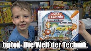 tiptoi - Die Welt der Technik (Ravensburger) - ab 4 Jahre ... Altersgruppe 4 bis 7 Jahre