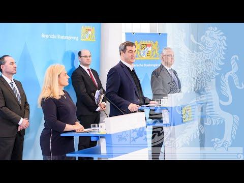 Pressekonferenz zur Corona-Pandemie vom 24.03.2020 - in Deutscher Gebärdensprache