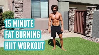 15 Minute Fat Burning HIIT Workout | No Equipment | The Body Coach by The Body Coach TV
