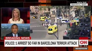 Barcelona attack update: 1 arrest, police say no hostage situation
