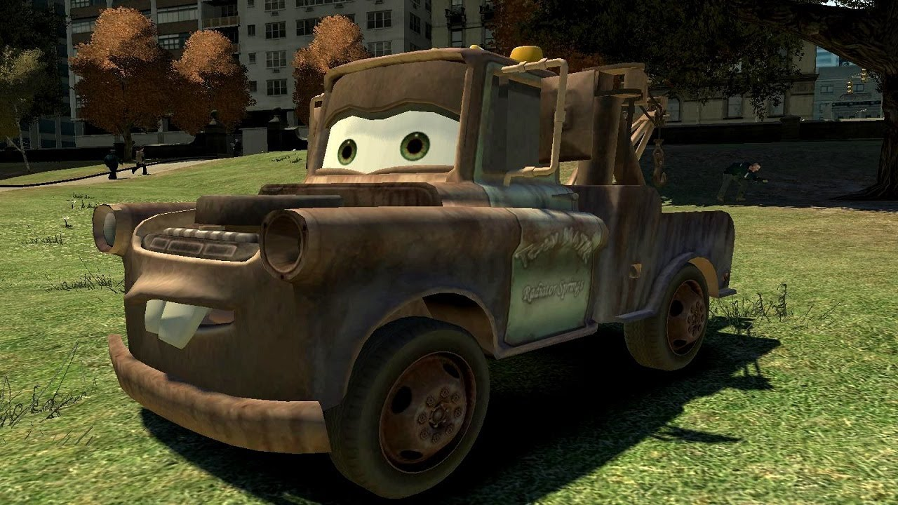 It's That Goofy Pickup Truck From Cars, Destroying Liberty City