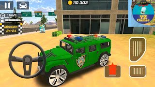 Police Drift Car Driving Simulator (Luxury Hummer Police 755) Android GamePlay [FHD] #32
