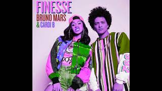 Bruno Mars and Cardi B - Finesse (Remix) ~~Slowed