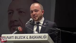 AK Parti Bilecik Aday Tanıtım Toplantısı