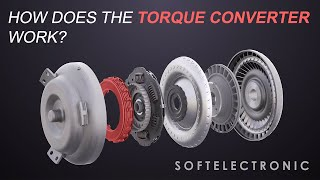 How does the Torque Converter in the automatic transmission work? - video by Softelectronic