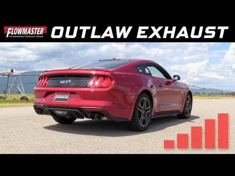 2018-19 Ford  Mustang GT 5.0L - Outlaw Axle-back Exhaust System 817806
