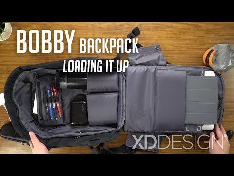 Bobby Anti-theft Backpack – Loading It Up / XD Design | In-depth Look
