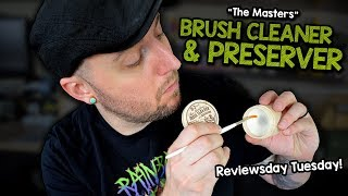 👍👎The Masters Brush Cleaner & Preserver - REVIEW & DEMONSTRATION